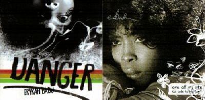 ERYKAH BADU DANGER LOVE OF MY LIFE 2 V RARE MOTOWN CD S