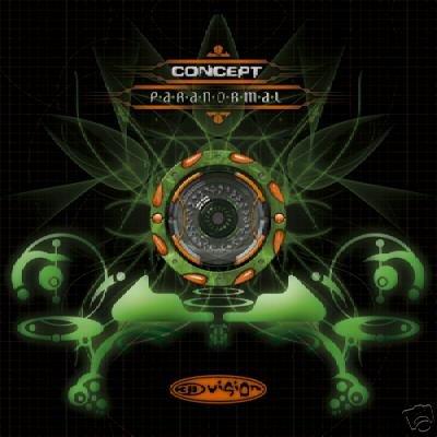 CONCEPT PARANORMAL SUPERB COLLECTORS PSY-TRANCE CD