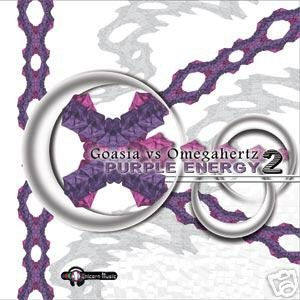 GOASIA VS OMEGAHERTZ PURPLE ENERGY TWO 2 PSY-TRANCE CD
