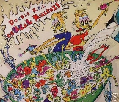 DOUBLE REL R.E.L. CEREAL KILLERZ SUPERB PSY-TRANCE CD
