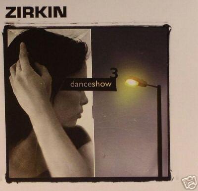 ZIRKIN DANCE SHOW 3 THREE ISRAEL PSY-TRANCE CD
