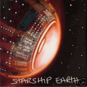 AUDIALIZE STARSHIP EARTH INDIAN PSY-TRANCE CD IMPORT
