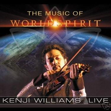 KENJI WILLIAMS THE MUSIC OF WORLDSPIRIT LIVE AMBIENT CD