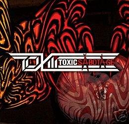 TOXIC SABOTAGE RARE JAPANESE PSY-TRANCE CD IMPORT