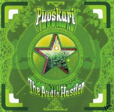 PUOSKARI THE AUDIO HUSTLER RARE HONG KONG TRANCE CD