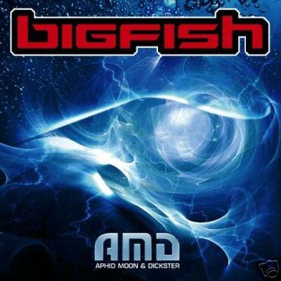 AMD BIG FISH BIGFISH SUPERB COLLECTORS PSY-TRANCE CD
