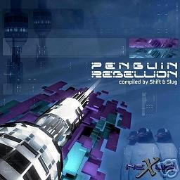 PENGUIN REBELLION RARE OOP SHIFT SLUG PSY-TRANCE CD