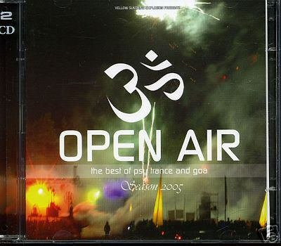 OPEN AIR IN GOA VOL 3 THREE SEASON 2005 RARE OOP CD SET
