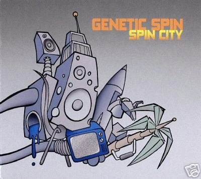 GENETIC SPIN SPIN CITY VAZIK RARE GERMAN PSY-TRANCE CD
