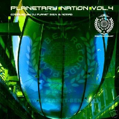 PLANETARY NATION 004 4 GMS NOMAD YAHEL FREAKULIZER CD