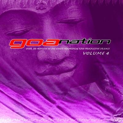 GOA NATION 4 FOUR VIBRASPHERE TICON SYMPHONIX RARE CD