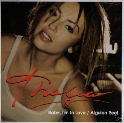 THALIA BABY I'M IN LOVE ORIGINAL OOP COLLECTORS CD NEW