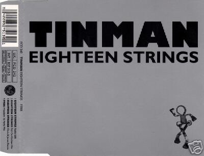 TINMAN EIGHTEEN STRINGS 4 TRACK CD NEW & SEALED