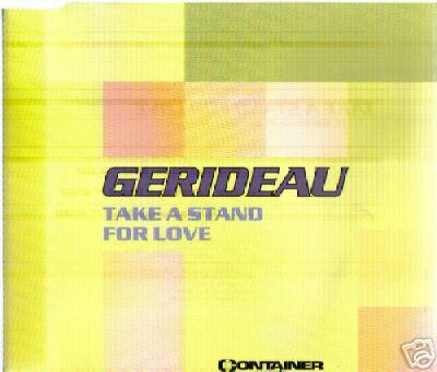GERIDEAU TAKE A STAND FOR LOVE DEEP HOUSE CD NEW