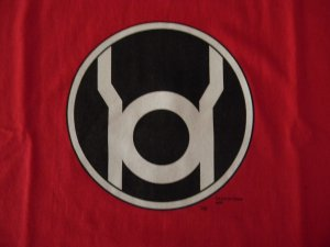 T-shirt - Red Lantern - Size XL