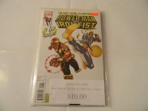 Heroes for Hire Bundle, Power Man and Iron Fist #1-5 (2011 Series, complete)