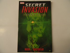 Secret Invasion: Front Line, Reed, Castiello *Special Price*