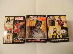 Marvel Chaos War Heroclix Single Booster Pack