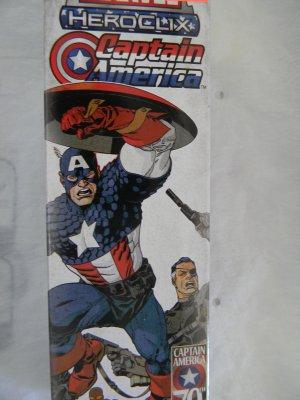 Marvel Captain America Heroclix Five Figure Booster Pack