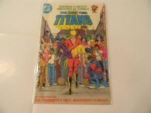 Keebler Company Presents DC Comics' The New Teen Titans