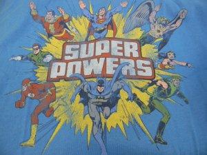 Super Powers T-shirt XL