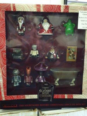 The Nightmare Before Christmas Kubrick 10PCS DX Box Set