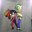 Harley Quinn and Joker T-Shirt - L