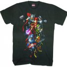 Avengers Uncanny Avengers Black T-Shirt XL
