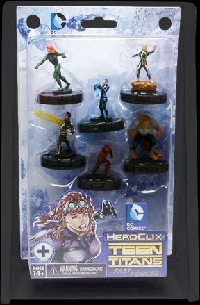 DC HEROCLIX TEEN TITANS RAVAGERS FAST FORCES 6 PACK