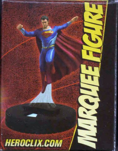 DC HEROCLIX MAN OF STEEL MARQUEE FIGURE