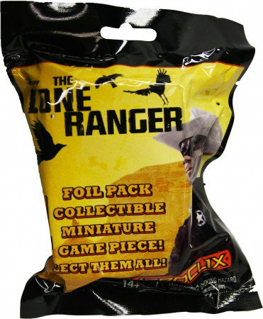 LONE RANGER HEROCLIX GRAVITY FEED SINGLE PACKS