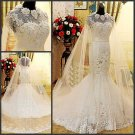 2013 Design Elegant Lace Mermaid Wedding Gown