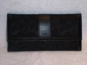 NYC SIGNATURE CHECKBOOK WALLET