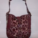 NEW NYC OPTIC HOBO CLIP HANDBAG