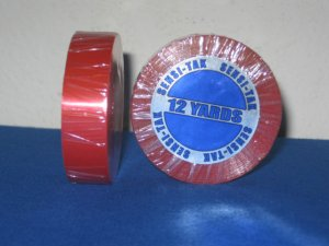 """SENSI-TACK RED LINER 3/4""""X12 YARD  CLEAR TAPE ROLL ~TOUPEE WIGS"""
