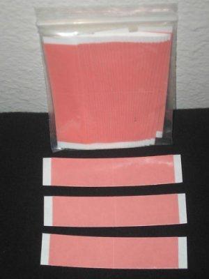 "Sensi-Tack Red-Liner3/4""X 3"" Tape (36 Strips) ~Wigs Toupee"