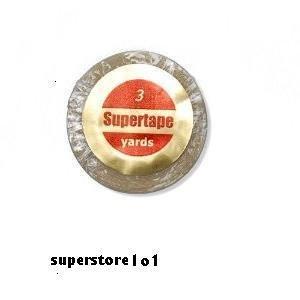 """SuperTape 3/4"""" x 3 Yard Roll Tape Non Glare ~ Lace Wigs & Toupee."""