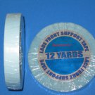 "WALKER 1/2""X12 YDS LACE FRONT SUPPORT TAPE ROLL (BLUE LINER)~Lace Wigs Toupee"