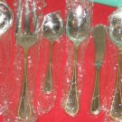 TOWLE SUPREME COLLECTION G/ABEADED ANTIQUE 6PC. HOSTESS SET MADE IN KOREA.