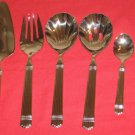 ROBERTS & BELK  ESPIRIT 18/10 STAINLESS  6PC HOSTESS SET NEW IN BOX.