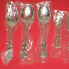 WALLACE SILVERSMITHS FINE 18/10 STAINLESS CHATHAM 5PC HOSTESS SET NEW.