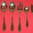 WALLACE SILVERSMITHS FINE 18/8 STAINLESS GA VISTA 5PIECE HOSTESS SET NEW IN BOX