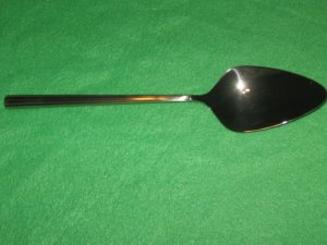 REED & BARTON STAINLESS LINEAR TABLESPOON (SERVING SPOON) NEW.