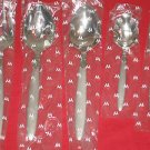 "Oneida Wedgwood ""Seville""5-Piece Hostess Set 18/10 New in Box."