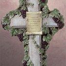 Grapevine Motif Wall Cross