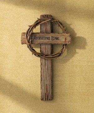 Amazing Love Wall Cross