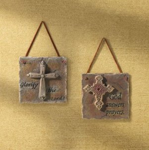 God Answers Prayer Plaques