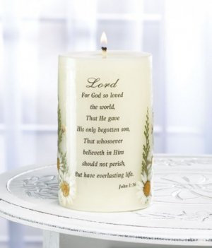 Love Of The Lord Candle