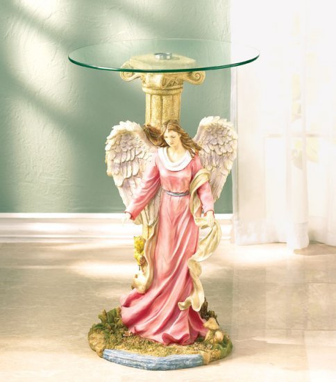 Guardian Angel Glass Tabletop