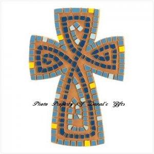 Earthernware Mosaic Cross